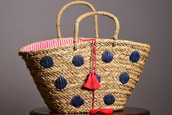 Pom pom bag from John Lewis