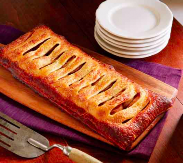 Apple Jalousie- an easy to make pud ….that works every time