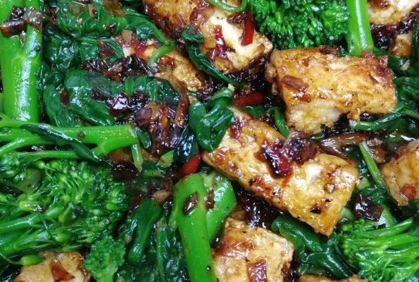 Salt and Pepper Tofu by Peta Leith