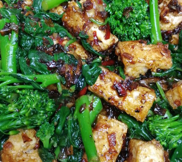 Salt and Pepper Tofu by Peta Leith