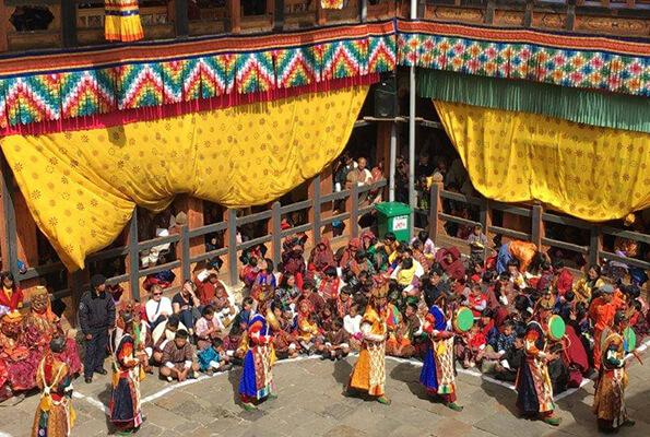 Jakkar Dzong festival