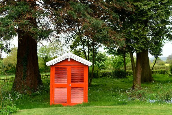 A new garden trend the 'she shed'