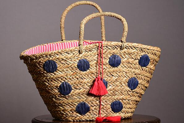 Pom pom bag from John Lewis